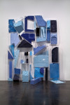 Cell: Interlocking Construction, 2010; Pigment, cosmetic compound, plexiglass; Los Angeles County Museum of Art