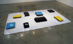 Carbon Fusion, 1996; Mixed plastics, plexiglas, vinyl, styrene, laminate