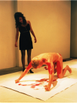 Red Not Blue,1992; Still from performance