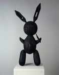Burnt Bunnies, 1993; Burned wood, Museum of Contemporarty Art, Los Angeles