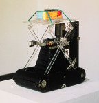 Hopelessly Marionetted  to Picabia, 2000; Cameras, acrylic