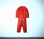 Lipstick Suit, 1997; Lipstick, resin, wax, fiberglass, fabric, Private Collection