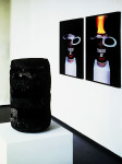 Motel Matches - Portrait of a Ready Made (After Kippenberger), 2000; Replica of beer can burned