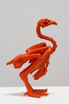 Untitled (Tangerine), 2013; Lipstick wax