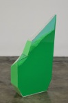 Particle Dispersion: Chrome Green, 2013 Plexiglass case with eyeshadow